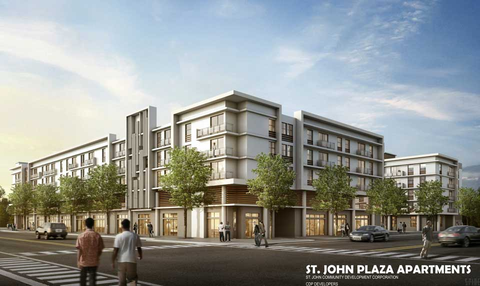 S 90 3 >> St. John Village Homes II, Affordable Housing in Overtown